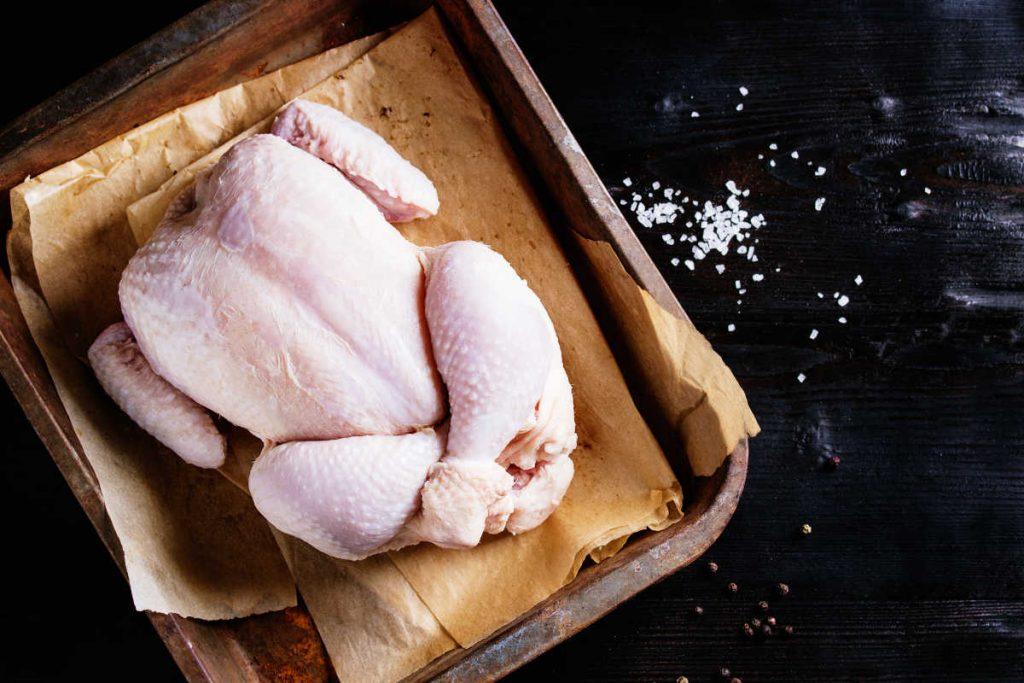 Pollo rico en colágeno