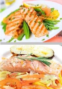 Colágeno en salmón